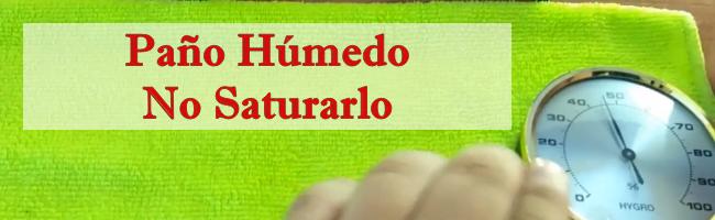 Calibración Trapo Húmedo para Higrómetro