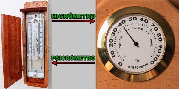 Que es un Higrómetro Analógico y qué tipos existen